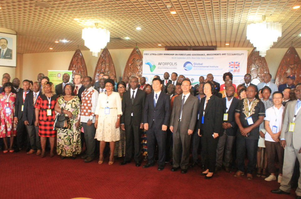 First Africa-China AFORPOLIS Workshop, Yaoundé-2019